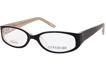 203ae61261 Cover Girl CG0392 Eyeglass Frames - Black Frame Color