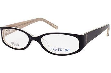 Cover Girl CG0392 Eyeglass Frames - Black Frame Color