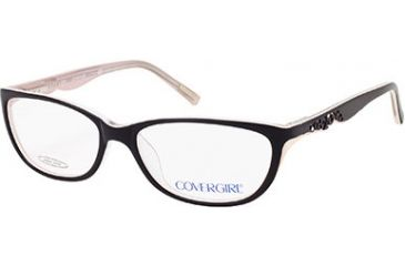 Cover Girl CG0393 Eyeglass Frames - Black Frame Color