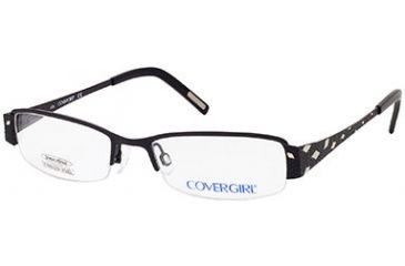 Cover Girl CG0395 Eyeglass Frames - Matte Black Frame Color