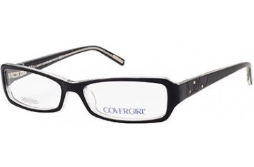 Cover Girl CG0396 Eyeglass Frames - Black Frame Color