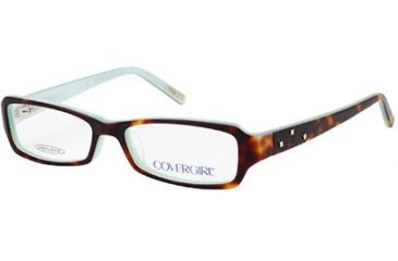 Cover Girl CG0396 Eyeglass Frames - Havana Frame Color