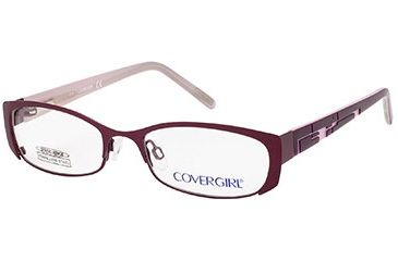 Cover Girl CG0397 Eyeglass Frames - Shiny Violet Frame Color