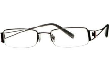 Cover Girl CG0405 Eyeglass Frames - Shiny Gun Metal Frame Color
