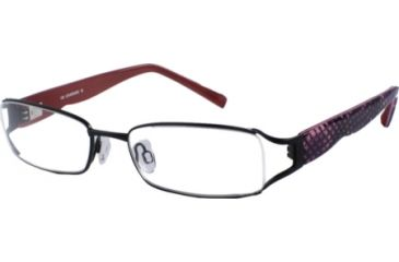 Cover Girl CG0415 Eyeglass Frames - Matte Black Frame Color