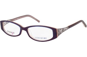 Cover Girl CG0419 Eyeglass Frames - Violet Frame Color