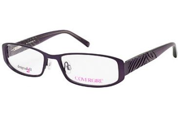 Cover Girl CG0420 Eyeglass Frames - Matte Violet Frame Color
