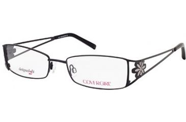 Cover Girl CG0421 Eyeglass Frames - Shiny Black Frame Color