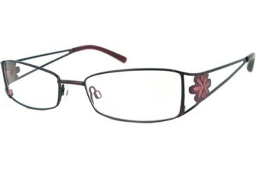 Cover Girl CG0421 Eyeglass Frames - Shiny Bordeaux Frame Color