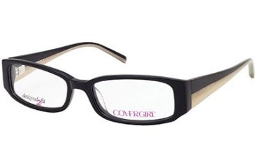Cover Girl CG0428 Eyeglass Frames - Black Frame Color
