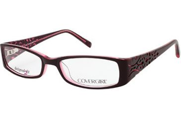 Cover Girl CG0429 Eyeglass Frames - Dark Brown Frame Color
