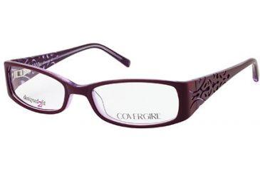 Cover Girl CG0429 Eyeglass Frames - Violet Frame Color