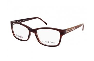 Cover Girl CG0434 Eyeglass Frames - Dark Brown Frame Color