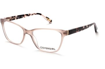 5d02bde00e Cover Girl CG0482 Eyeglass Frames - Shiny Beige Frame Color