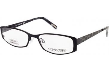 f58eb7a374 Cover Girl CG0505 Eyeglass Frames - Matte Black Frame Color