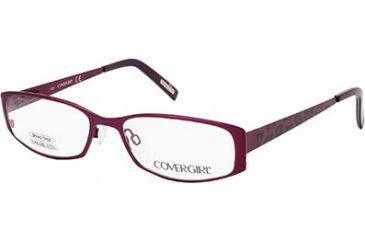 Cover Girl CG0505 Eyeglass Frames - Matte Violet Frame Color