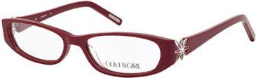 Cover Girl CG0507 Eyeglass Frames - Shiny Bordeaux Frame Color