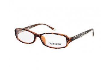 Cover Girl CG0509 Eyeglass Frames - Dark Havana Frame Color