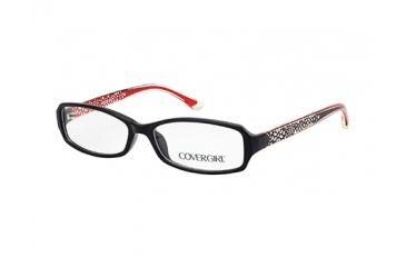 Cover Girl CG0509 Eyeglass Frames - Shiny Black Frame Color