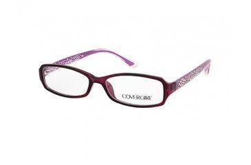 Cover Girl CG0509 Eyeglass Frames - Shiny Violet Frame Color