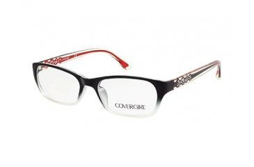 d71be21437 Cover Girl CG0510 Eyeglass Frames - Shiny Black Frame Color