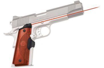 Crimson Trace 1911 Government/Commander Laser Grip - Cocobolo LG-917