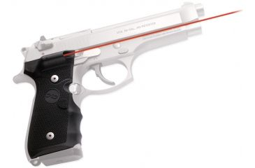 Crimson Trace Beretta, 92/96 Overmold, Dual Side Activation, Clam Pack 191535