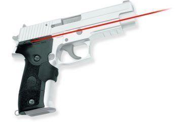Crimson Trace CTC Lasergrip w/Front Activation, Black - Sig Sauer P226 - LG-426