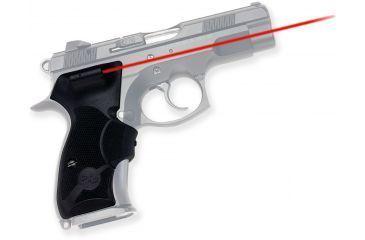 Crimson Trace Front Activation Lasergrip, Black - CZ75D Compact, LG476