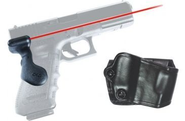 Crimson Trace G-Series Full Size Glock Laser Grip, GOULD, Gen 3 Grip and Leather Holster Combo LG-617H GOULD