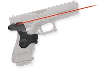 Crimson Trace Glock, 17,19,22,23 Polymer Grip, Overmolded, Front Activation, Clam Pack 191551