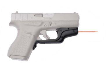 Crimson Trace Glock 42 Laserguard RED Laser, Black LG-443