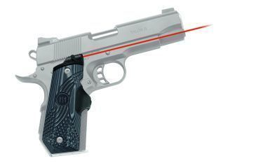 Crimson Trace Laser Grip - 1911 Bobtail Government/Commander- Master Series G10 Tactical LG-906