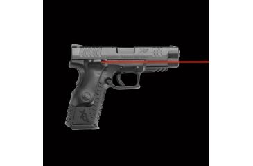 4-Crimson Trace LaserGrip Polymer Laser Sight Grip for Springfield XD(M) Full-Frame Handguns