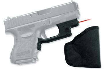 Crimson Trace Laserguard Sight, Black - Compact Glock 19/23/25 and Similar w/ Free Holster