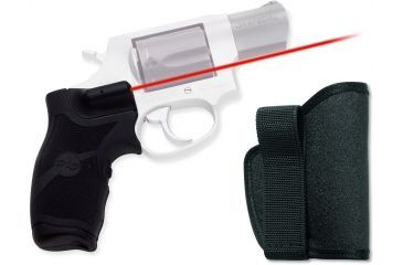 Crimson Trace Rubber Lasergrip - Taurus Small Frame w/ Holster