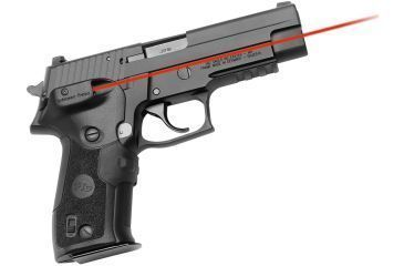 Crimson Trace Sig Sauer P226- LaserGrips-Front Activation, Dual Can IR/Red, Black LGD-426C