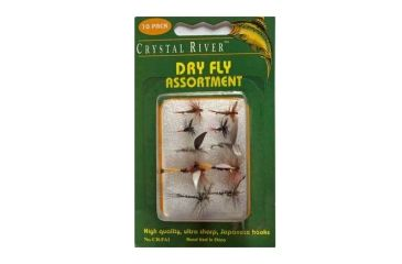 Crystal River Fly Assortments - Dry Flies 038976