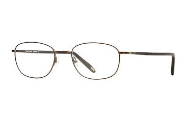 Cutter & Buck CB Opponent SECB OPPO00 Single Vision Prescription Eyeglasses - Amber SECB OPPO005550 BN