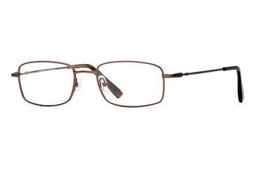 Cutter & Buck CB Torrey Pines SECB TORR00 Single Vision Prescription Eyewear - Brown SECB TORR005240 BN