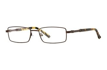 Cutter & Buck CB Westchester SECB WEST00 Single Vision Prescription Eyewear - Brown SECB WEST005540 BN