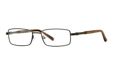 Cutter & Buck CB Westchester SECB WEST00 Single Vision Prescription Eyewear - Gunmetal SECB WEST005540 GM