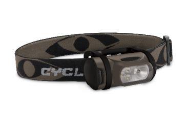 Cyclops TITAN XP 0.5W LED and 3 std. LED Tree Bark Green Headlamp CYC-TITANXP-TB