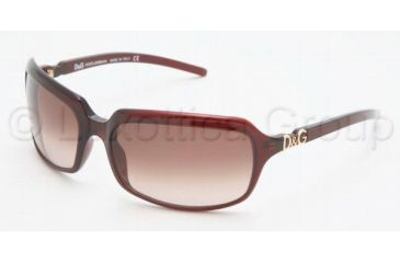 D&G DD 2192 Sunglasses Styles Red Frame / Brown Gradient Lenses, K74-6217, DandG DD 2192 Sunglasses Styles Red Frame / Brown Gradient Lenses