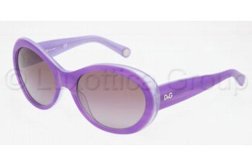 D&G DD3058 Bifocal Prescription Sunglasses DD3058-16888H-5718 - Lens Diameter: 57 mm, Frame Color: Striped Violet