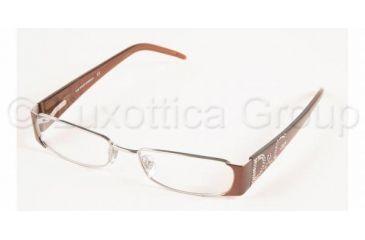 D&G DD 5021B Eyeglasses Styles 033 Silver Frame w/Non-Rx 50 mm Diameter Lenses, 033-5017, DandG DD 5021B Eyeglasses Styles 033 Silver Frame w/Non-Rx 50 mm Diameter Lenses