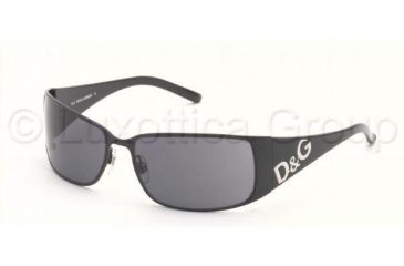 D&G DD6010 Sunglasses with No Line Progressive Rx Prescription Lenses DD6010-01-87-5916 - Lens Diameter: 59 mm, Frame Color: Black