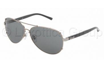D&G DD 6047 Sunglasses Styles Gunmetal Frame / Gray Lenses, 079-87-6012, DandG DD 6047 Sunglasses Styles Gunmetal Frame / Gray Lenses