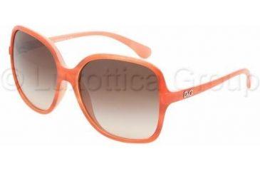 D&G DD 8082 Sunglasses Styles - Orange Watercolor Brown Gradient Frame, 169113-5815