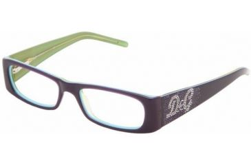 d05020afcdb9 D&G DD1155B SV Prescription Eyeglasses - Violet On Green Frame / 50 mm  Prescription Lenses,